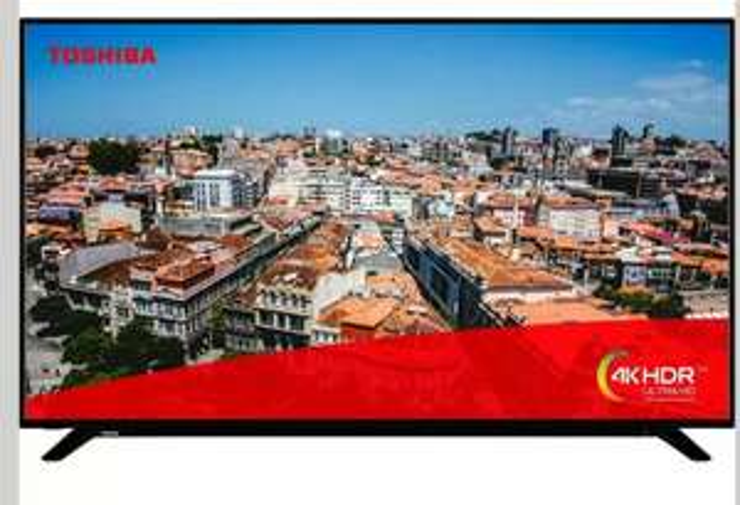 "TOSHIBA 65U2963DB 65"" Smart 4K Ultra HD HDR LED TV £474.05 - Currys/eBay"