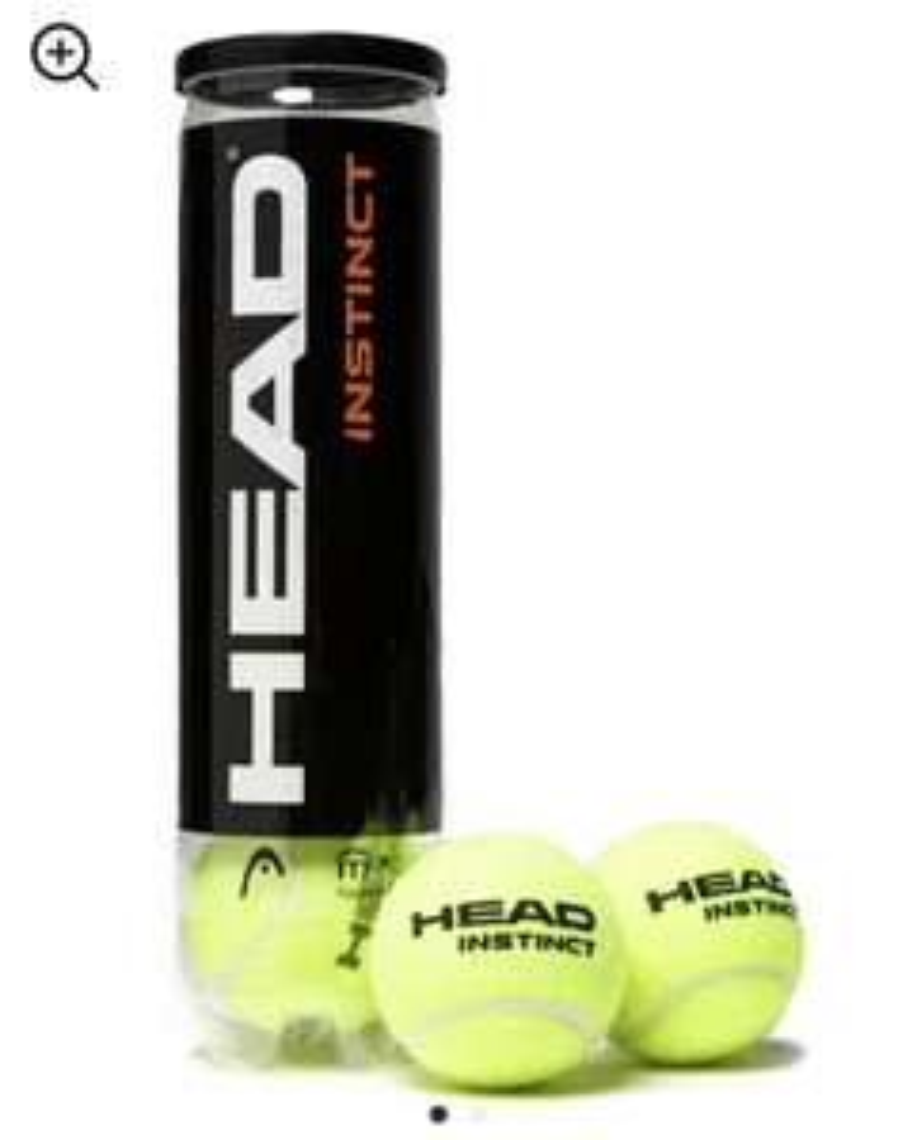 Head Instinct Tennis Balls (4 Balls) £1 (free Click & Collect) @ JD Sports