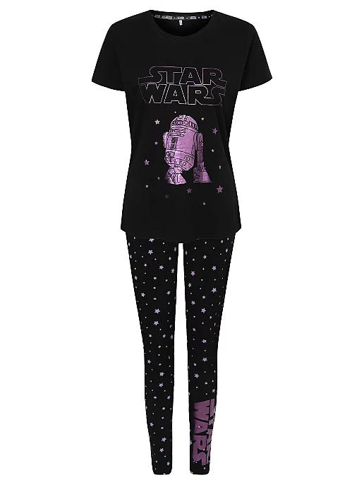 Star Wars R2D2 Purple Foil Pyjamas £12 (Free Click & Collect) @ George (Asda)