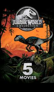 Jurassic World 5-Movie Collection HD - £13.99 at Google Play
