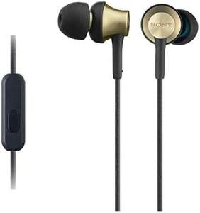 Sony MDREX650APT.CE7 Earphones with Brass Housing, Smartphone Mic and Control - Gold/black £31.50 @ Amazon.co.uk