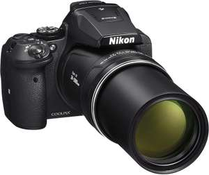 Nikon COOLPIX P900 Digital Camera - Black (16.0 MP CMOS sensor, 83x Zoom) 3-Inch LCD Screen £379 @ Amazon.co.uk