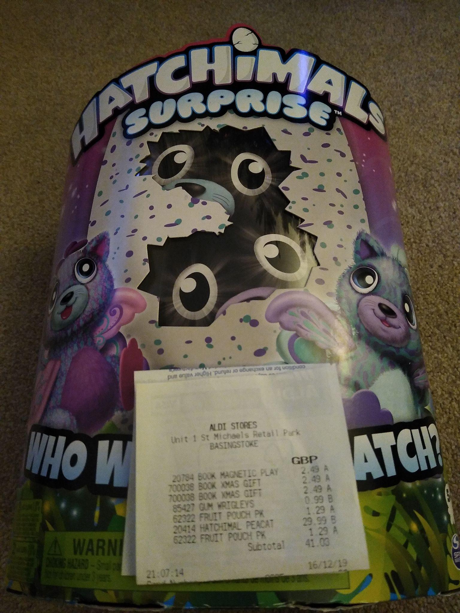 Hatchimals Surprise £29.99 @Aldi