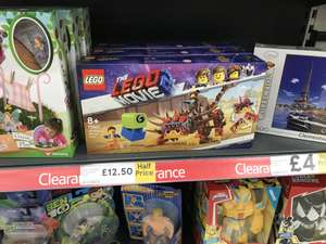 Lego Movie 2 Sets £12.50 at Tesco Somerset