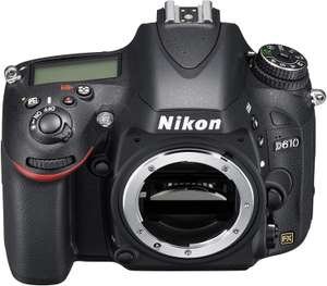 Nikon D610 Digital SLR Camera (24.3MP) 3.2 inch LCD £717.05 @ Amazon