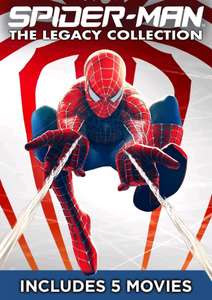 Spider-man Legacy Collection - 5 HD Films £9.99 Google Play Store