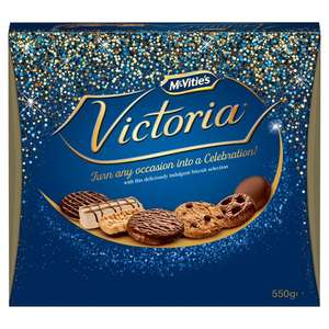 Mcvities victoria selection 2 box for £5. 550g box of mcvities Morrisons