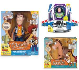 Toy Story Signature Collection Woody & Bullseye £40.49 each @ Amazon and Very. Buzz £40.49 @ Very