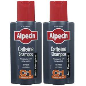 Alpecin C1 2x250mL bottles £3.86 each, free delivery @ Look Fantastic