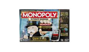 Monopoly Ultimate Banking Edition from Hasbro Gaming £25.60 @ Argos