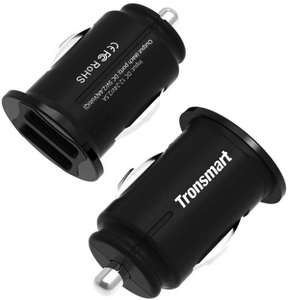 C24 2-Pack 4.8A 24W Dual USB Car Charger £8.49 (Prime) / £12.98 (non Prime) Sold by TopYuan and Fulfilled by Amazon.