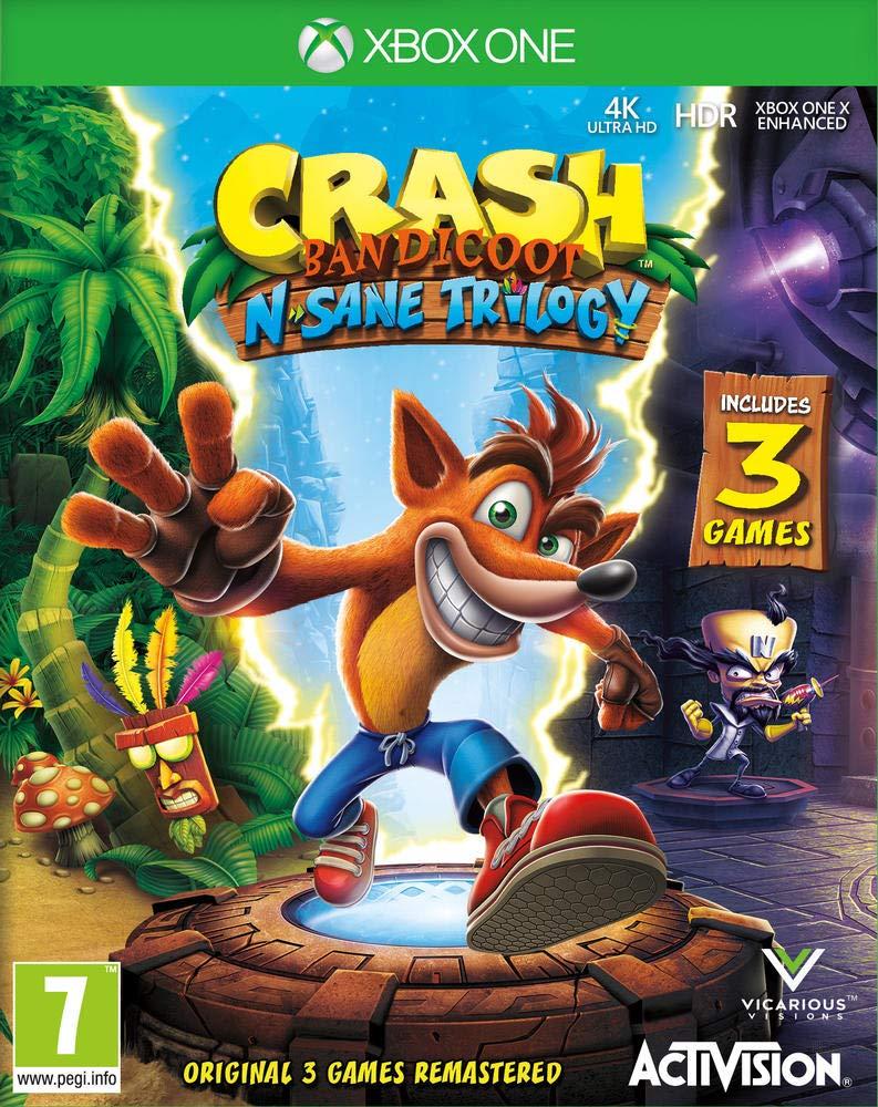 Crash Bandicoot NSane Trilogy (Xbox One) £18 delivered with prime @ Amazon