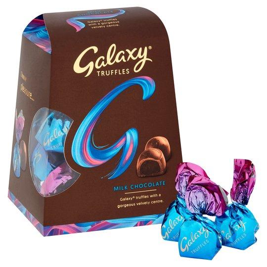 Galaxy Milk Chocolate Truffles 206G £3.50 Tesco