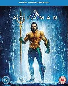 Aquaman blu ray £6.99 @ Amazon (£2.99 p&p non prime)