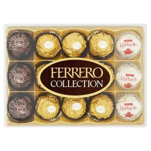 Ferrero rocher collection 15 pieces 3 boxes for £10 @ Morrisons