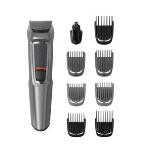 Philips Series 3000 9-in-1 Multi Grooming Kit with Nose Trimmer Attachment - MG3722/33 £14.99 (Prime) / £19.48 (non Prime) Amazon