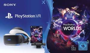 PlayStation VR PSVR Starter Pack inc Headset, Camera + VR Worlds £150.30 Like New from Amazon Warehouse France (£146.34 using fee free card)