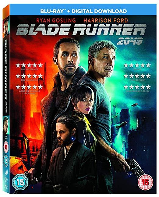 Blade Runner 2049 Blu-ray + Digital download £3.99 + £2.99 nonPrime @ amazon.co.uk