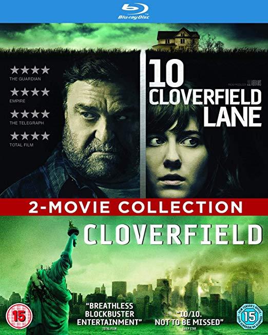 Cloverfield / 10 Cloverfield Lane (Double Pack) [2016] [Region Free] Blu-Ray Box Set £4.99 + £2.99 nonPrime @ amazon.co.uk