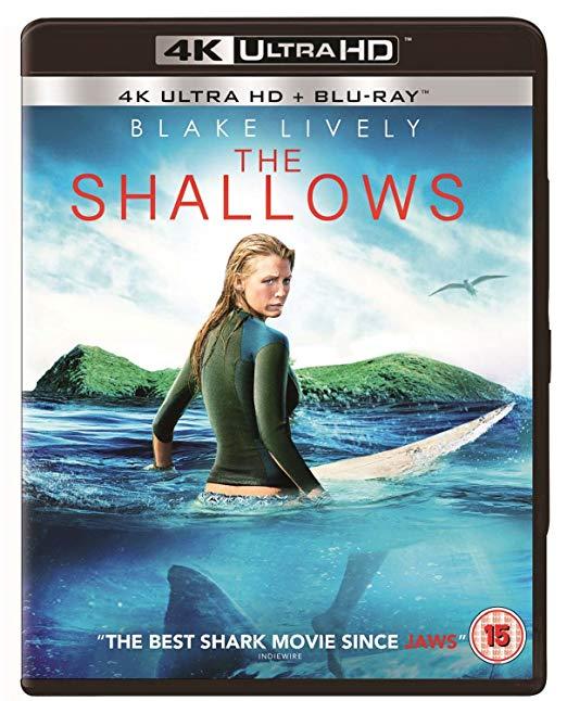 The Shallows 4K Ultra HD] [2016] [Region Free] 4K + Blu-ray + Digital copy £8.51 + £2.99 nonPrime @ amazon.co.uk