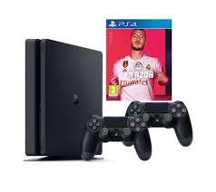 Fifa 20 500GB PS4 Bundle with Second DualShock 4 Controller - Used Acceptable £164.25 @ amazon wrehouse