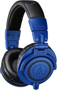 Audio-Technica ATH-M50xBB Special Edition Blue and Black Professional Monitor headphones - £89.99 @ Amazon