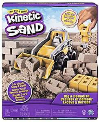 Kinetic Sand Dig and Demolish - £8 (Prime) £12.49 (Non Prime) @ Amazon