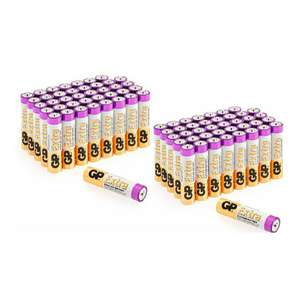 AA Batteries Pack of 80 - £12.79 (Prime or £4.49 Non Prime) @ Sold by GPBatteries Direct and Fulfilled by Amazon.