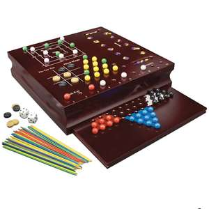 Classic Family Game Set - 10 Games - £5.60 At Checkout - Free Click & Collect @ George
