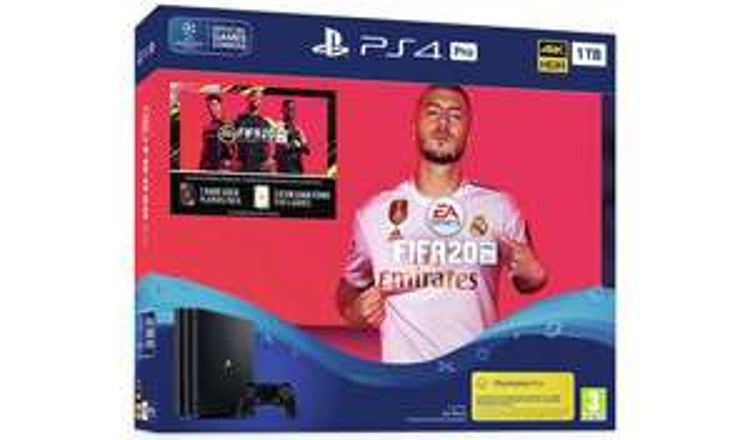 Sony PS4 Pro 1TB Console & FIFA 20 Bundle - £249.99 @ Argos
