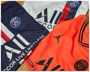 25% off and free delivery at Kitbag - includes top football shirts