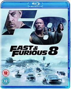 Fast and Furious 8 (blu-ray) £4.99 (Prime) +£2.99 delivery (non Prime) @ Amazon