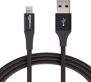 Amazon USB Lightning Cable - 6 Feet (1.8 Meters) 2 pack black £9.93 (Prime) £14.42 (Non Prime) @ Amazon