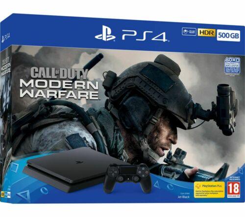 PlayStation 4 Slim 500GB Call of Duty Modern Warfare Bundle £189.05 from Currys PCWorld eBay using code