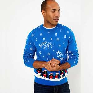Men's Christmas Jumpers for £9 @ Marks & Spencer (Free click and collect)