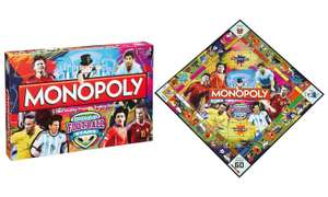 Winning Moves Monopoly World Football Stars Edition £24.98 + £1.99 delivery @ Groupon