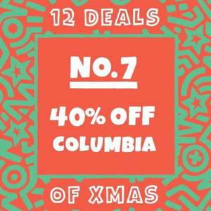 5pointz deal of the day - 40% off Columbia