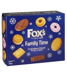 Fox's Family Time Biscuits - £1.99 instore @ B&M Oxford