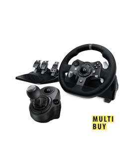 Logitech G920 Driving Force Racing Wheel With Pedals And Force Shifter For Xbox & PC £179.99 at VERY