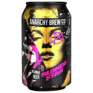 Anarchy brew IPA and blonde ale craft beer - £1 @ Marks & Spencer (Newcastle)