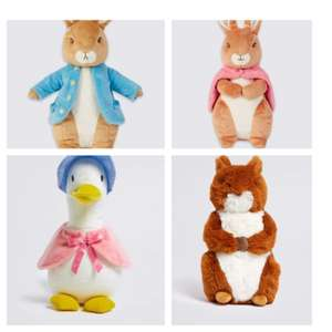 30% off Peter Rabbit Soft Toys, Books and Comforters @ Marks and Spencer + free click & collect