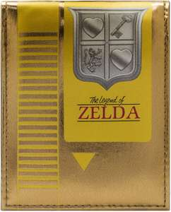 Legend of Zelda Retro NES Cartridge Gold ID & Card Bi-Fold Wallet - £11.99 (Prime) £16.48 (NP) Sold by SamuelUK & Fullfilled By Amazon
