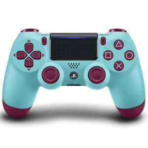 DualShock 4 Wireless Controller for PlayStation 4 - Berry Blue £29.99 @ Amazon