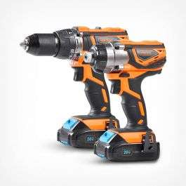 20v Max Impact Drill & Driver Kit with Free delivery from Vonhaus.com - £109.99