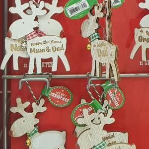 Peacocks - Christmas Tree Decorations now 98p instore - Belfast