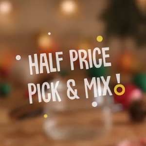 Wilko half price pick & mix - starts from £0.45/100g