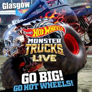 Hot Wheels Monster Trucks Live - February 2020 At Glasgow / The SSE Hydro - £14.92 - £19..60 Using Code - @ Groupon