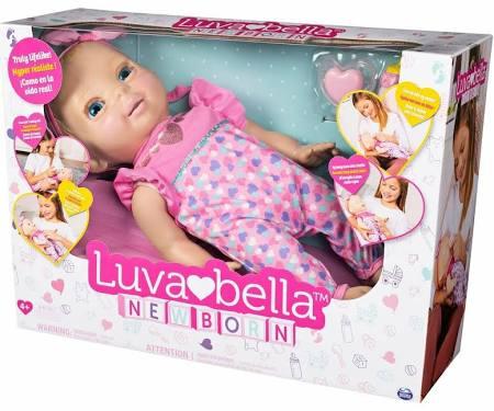 LUVABELLa Pink Newborn Doll - £29.99 + £1.99 C&C @ TK Maxx