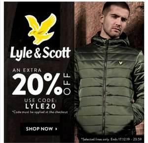 20% off Lyle and Scott @ Get The Label