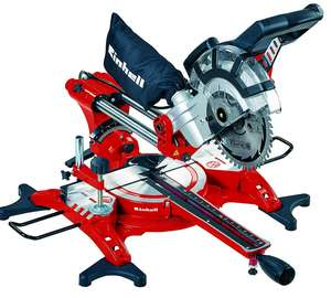 Einhell TC-SM 2131 240 V Double Bevel Crosscut Mitre Saw with Laser - Red - £79.99 @ Amazon